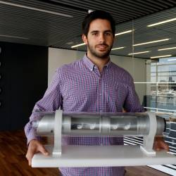 David Pistoni, Director ejecutivo de Zeleros Hyperloop. GUILLERMO LUCAS
